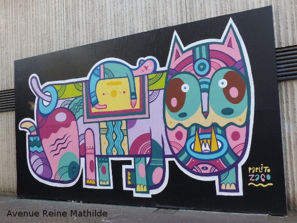MUR Nancy street art