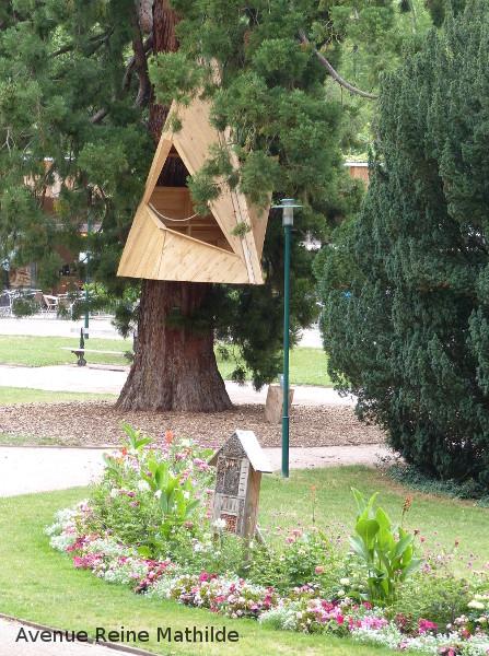 cabane parc de la pépinière