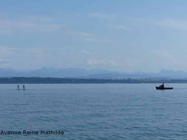 Magnifique vue sur le lac de Neuchâtel