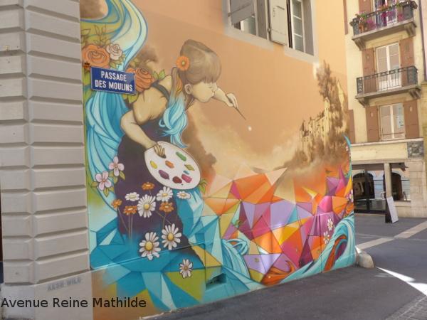 street art dans Neuchatel