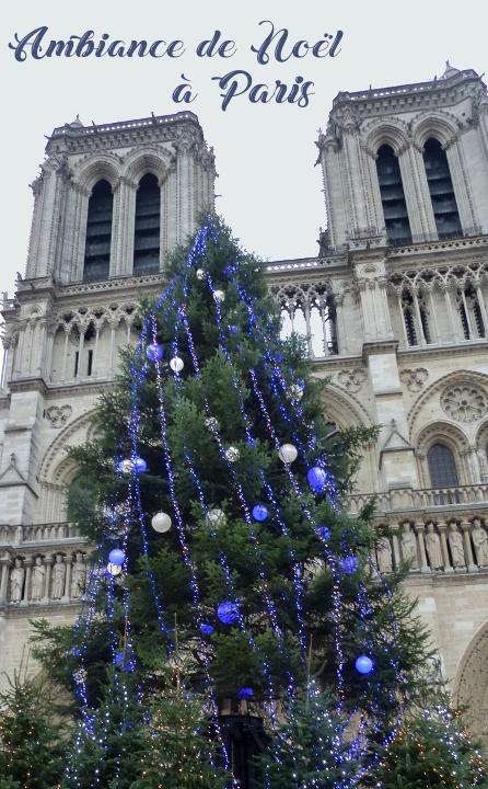 quoi faire à Noël à Paris