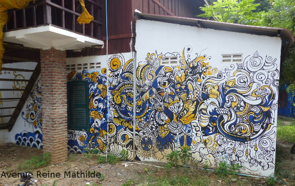 Phare Battambang street art