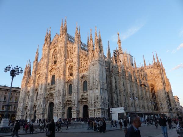 Milan en mars