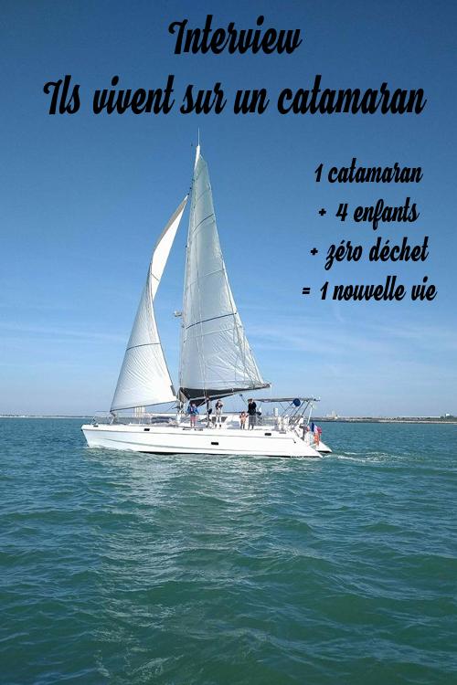 famille, vie en catamaran