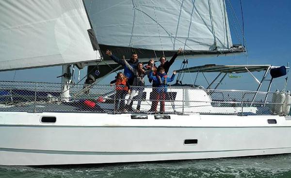 voyager en famille en catamaran