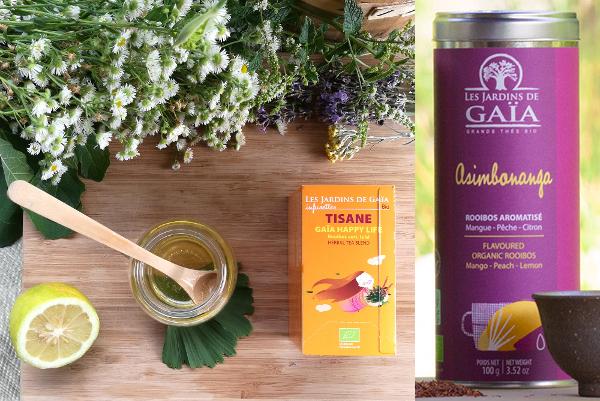 thé rooibos jardins de gaia
