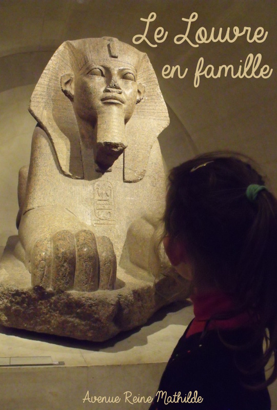 visite du Louvre en famille