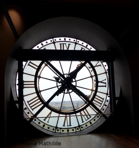 Horloge Orsay en famille