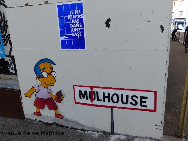 mulhouse street art simpson