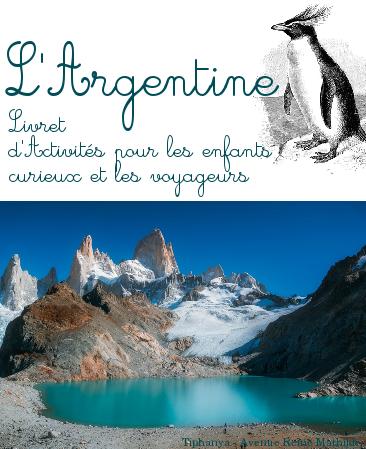 livret d'activités sur l'argentine à imprimer