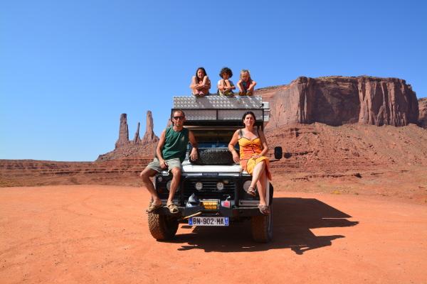 nomad family 1 an en Amérique