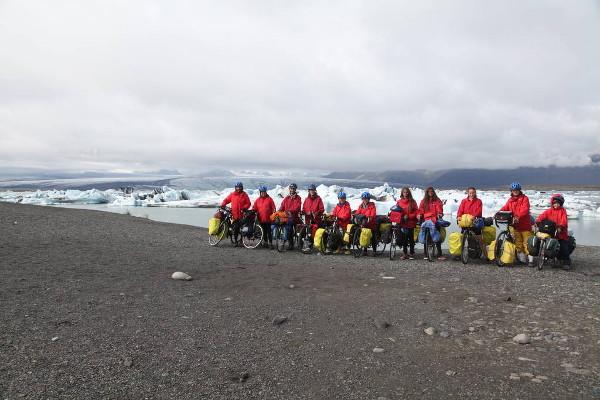 Islande à vélo avec adolescents