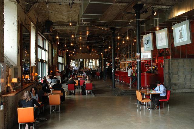 Bar du lieu Unique Nantes