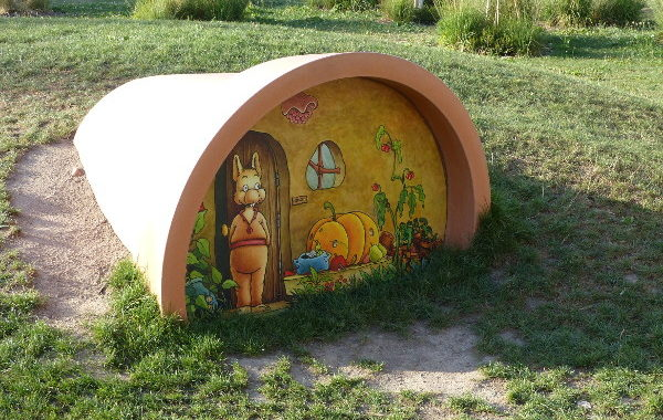 Nantes Claude Ponti jardin des plantes