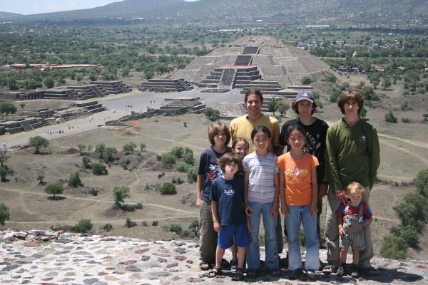 voyager avec 9 enfants au Panama