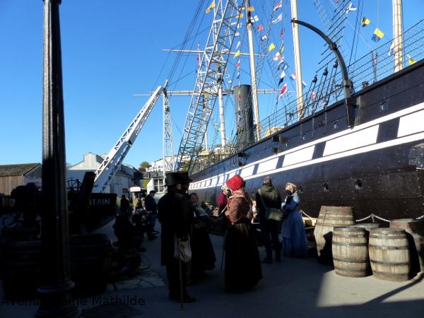 Bristol SS great Britain Halloween