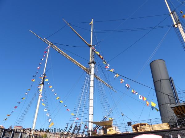 Bristol visiter un bateau