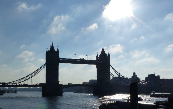londres en automne tower bridge
