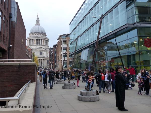 Londres littéraire Harry Potter