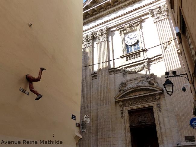 lyon street art installation 3D