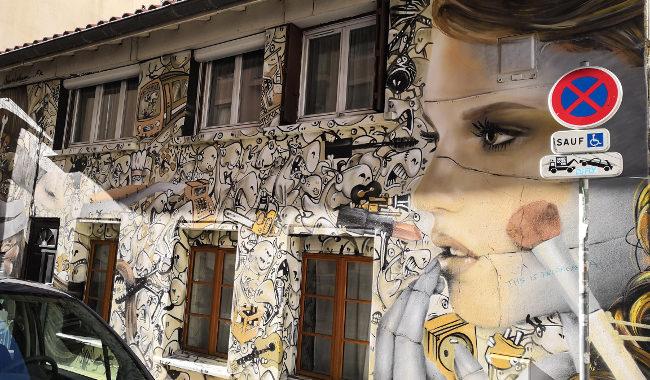 quelle balade street art à Lyon