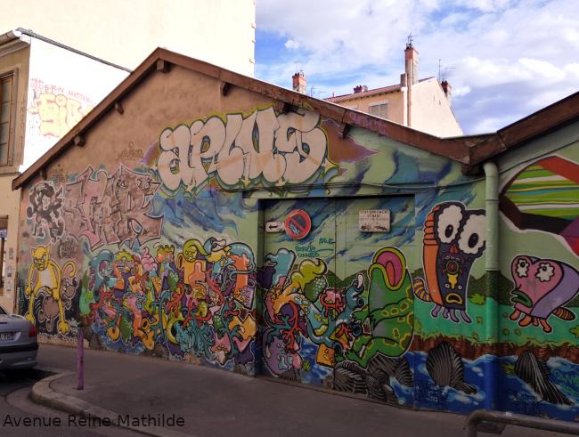 Balade street art Lyon 1er