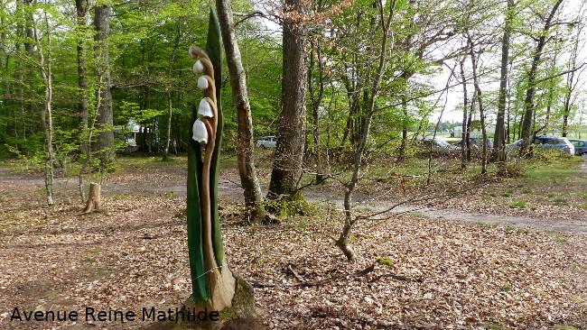 sculpture forêt montargis