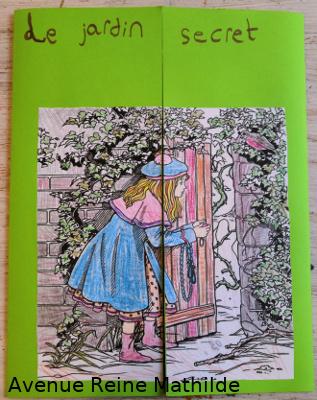 le jardin secret coloriage