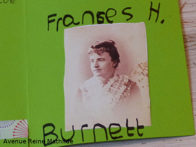 lapbook photo Frances Burnett