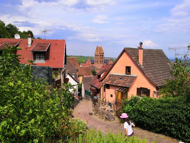 Rando jeu avec enfants en Alsace