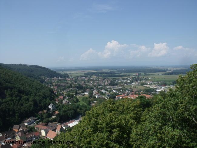 Rando famille dans le sud de l'Alsace