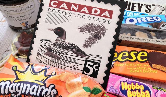 Cadeaux du Canada : des bonbons
