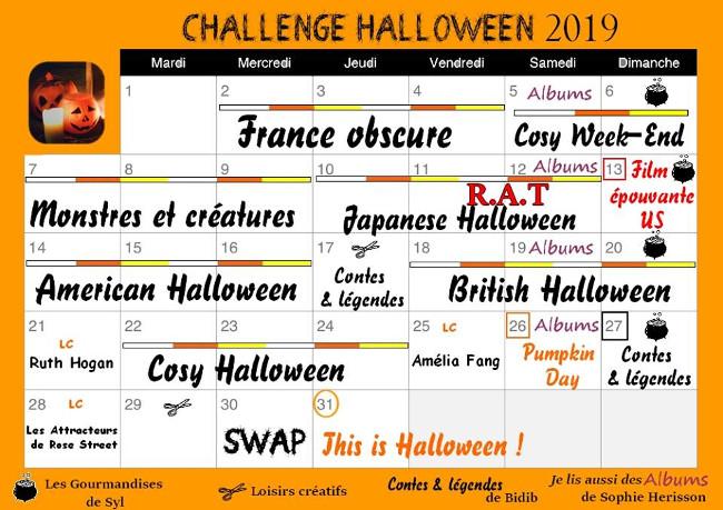 planning challenge Halloween