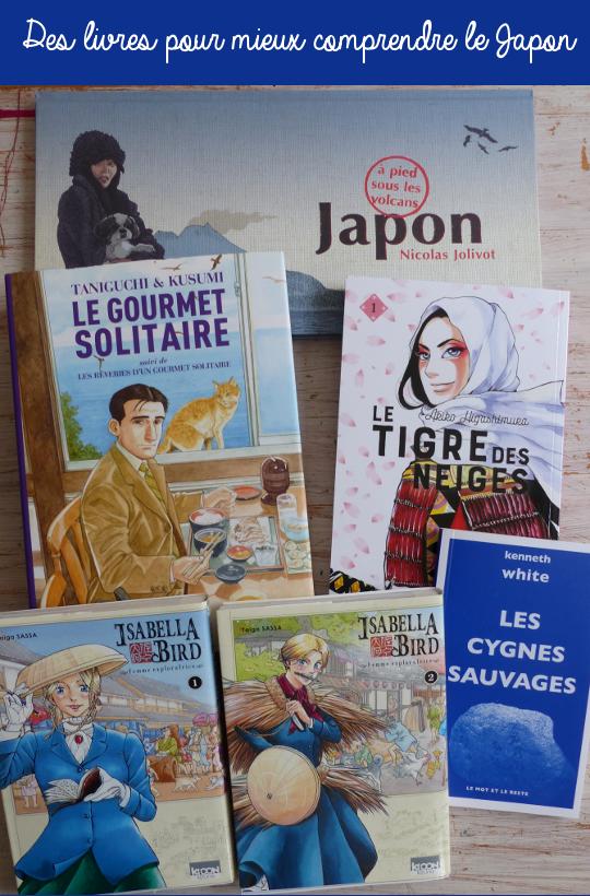 Sélection de livres sur le Japon