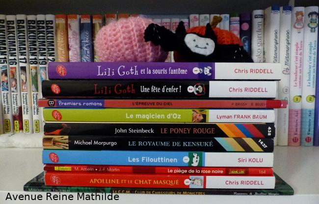 Pile à lire enfant Halloween