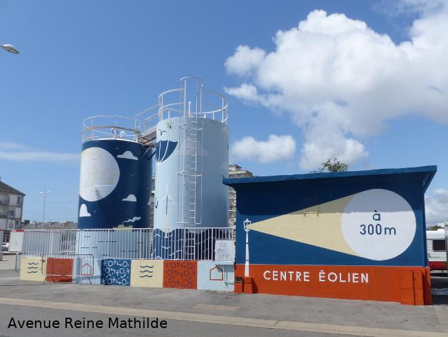 centre éolien à St Nazaire