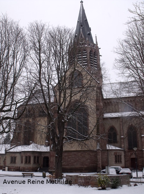 Eglise Ste Geneviève Mulhouse