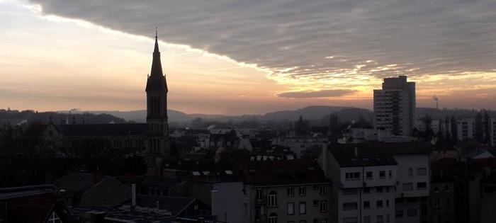 Mulhouse depuis la Grande roue