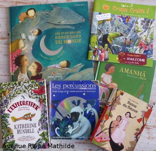 Livres sur le Brésil et l'Amazonie