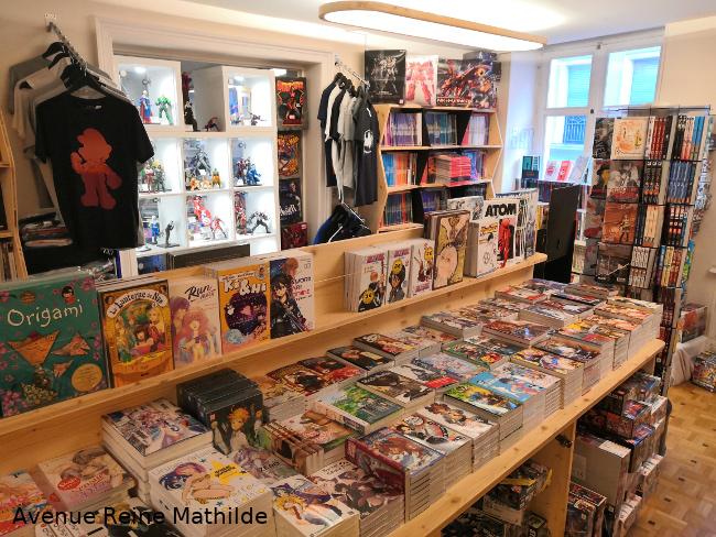 librairies préférées Mulhouse