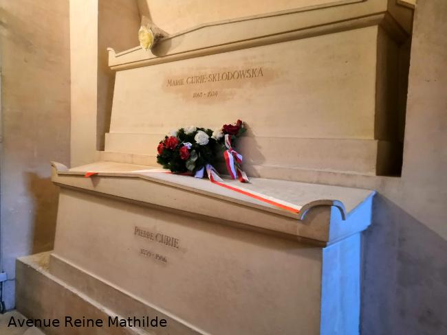 Pierre et Marie Curie au Panthéon