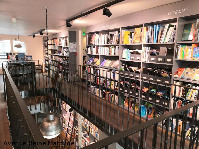 librairie Voyageurs du monde Parie