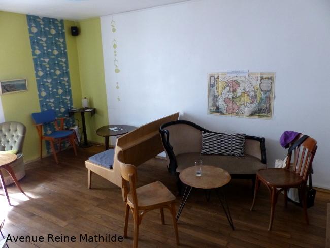 salon de thé en librairie à Nantes
