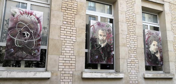 Entrée du Musée Curie