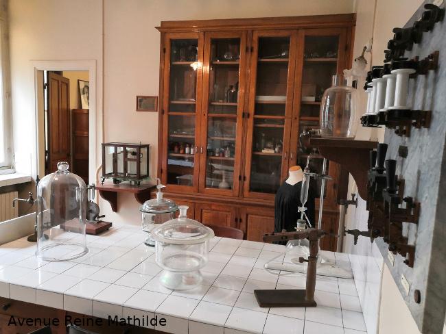 Musée Curie, laboratoire de Marie Curie
