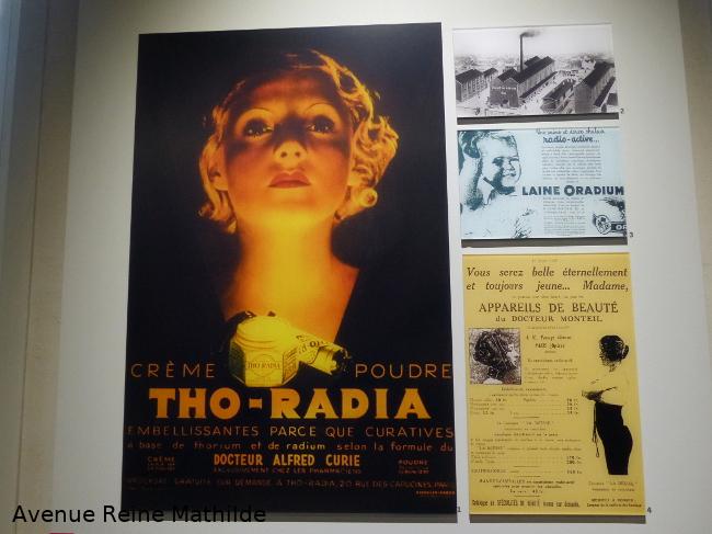 Le radium à la mode au Musée Curie