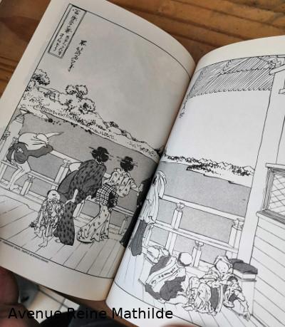 extrait manga Hokusai