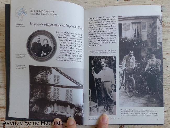 Balade parisienne avec pierre et marie Curie