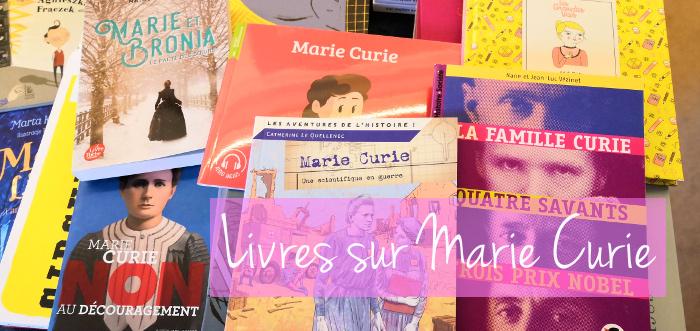 livres et ressources sur Marie Curie