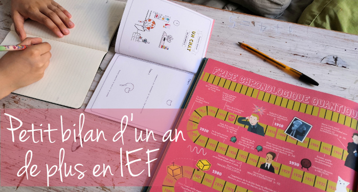 bilan année IEF